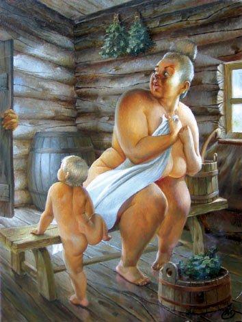 прикольные голые бабы фото