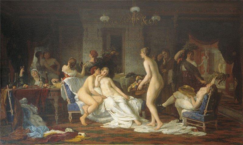 пикантные истории в бане
