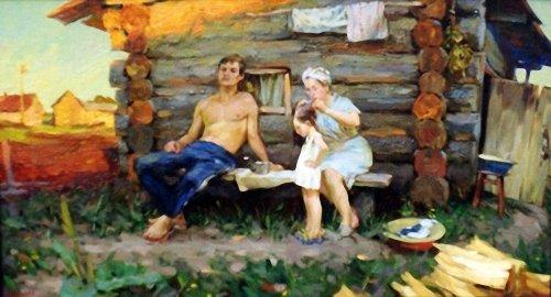 бабы баня деревня