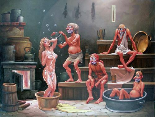 Корпоратив в сауне и бане фото и видео фото 587-87