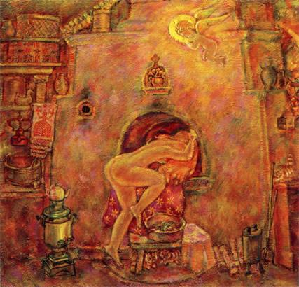 фото бабы в русской бане