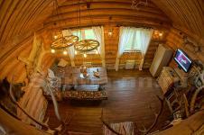 """Баня """"Барин Хаус"""" - гостиная в русском стиле"""