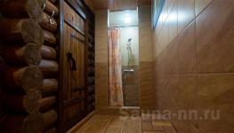"Коттедж ""Люкс"" - русская баня на дровах - душевая"