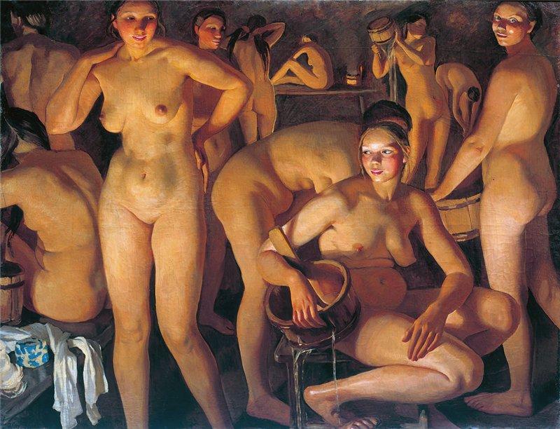эротика фото женская баня